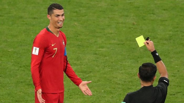 Pelatih Iran Carlos Queiroz menilai Cristiano Ronaldo seharusnya dikartu merah (Foto: Lucy Nicholson/Reuters)