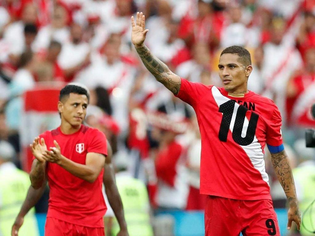 Setelah 40 Tahun, Peru Akhiri Puasa Kemenangan di Piala Dunia