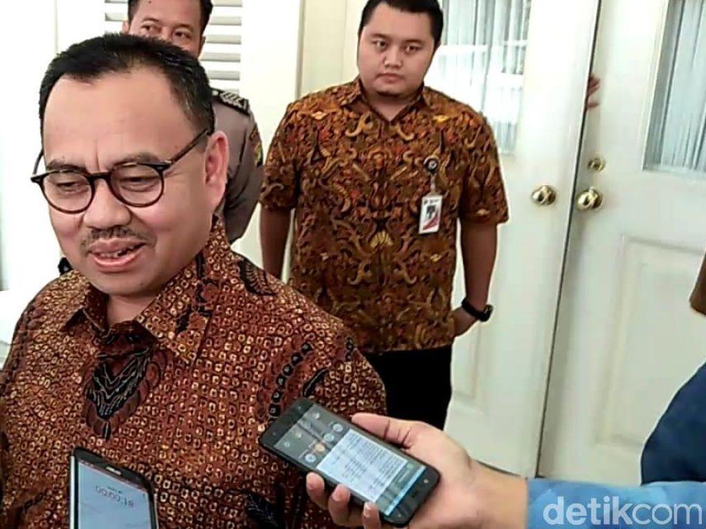 H-1 Pilkada, Sudirman Said Sambangi Anies di Balai Kota DKI