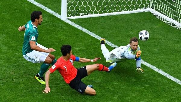 Jerman Jadi Tim ke-7 yang Ditaklukkan Korea di Piala Dunia
