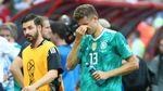 Tangisan Pemain dan Pendukung Jerman