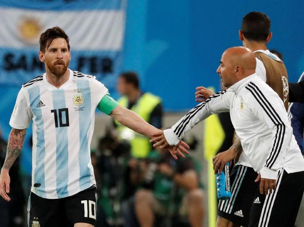 Sampaoli kepada Skuat Argentina: Bisa Dekati Level Messi?