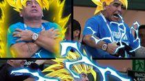 Tingkah Antik Maradona Jadi Bahan Meme Kocak