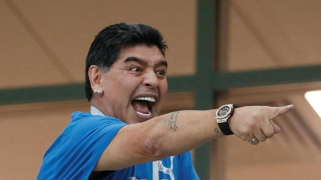 Jangan Sampai Seperti Maradona Masuk RS, Kenali Tanda-tanda Darah Rendah
