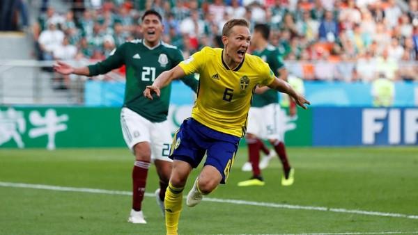 Klasemen Grup F: Swedia dan Meksiko Lolos ke 16 Besar, Jerman Terdepak