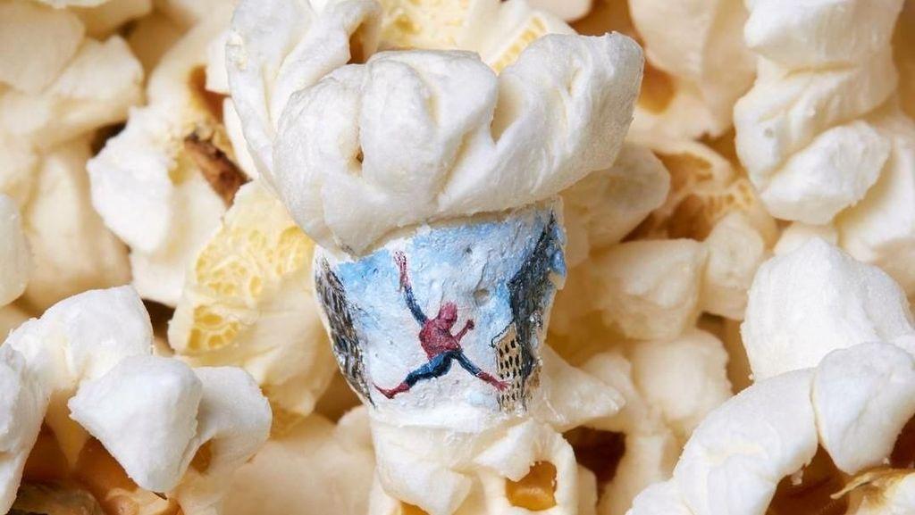 Wow! Popcorn Direka Jadi Karya Seni yang Unik dan Cantik Ini