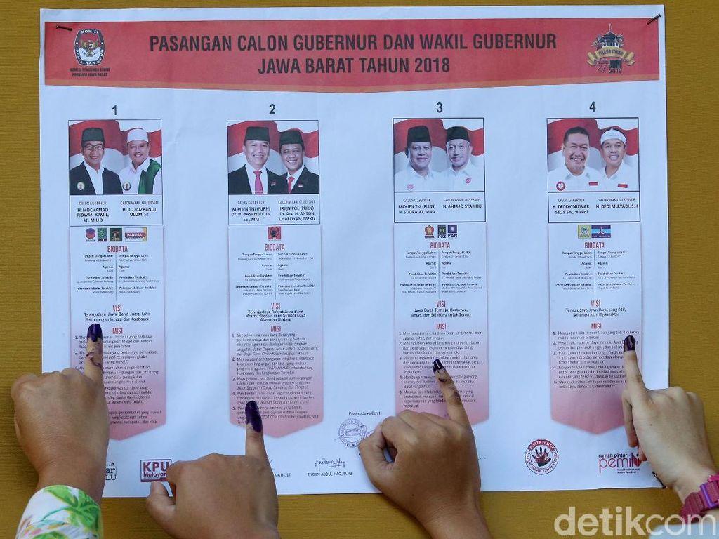 Antusiasme Warga Jabar Pilih Gubernur