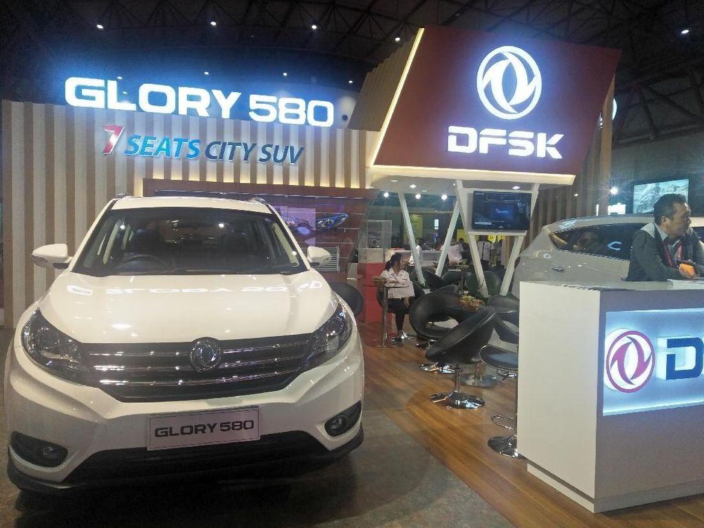 GIIAS 2018: Mobil China DFSK Tunggu Kebijakan Mobil Listrik