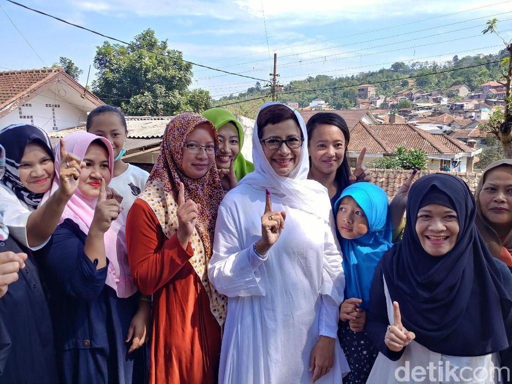 Nurul Arifin Optimistis Menang 40 Persen di Pilwalkot Bandung