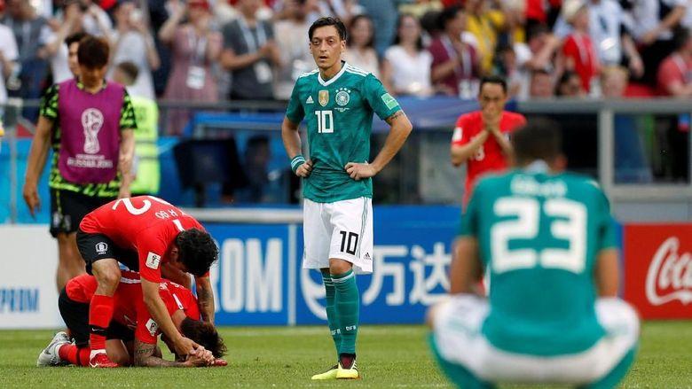 Piala Dunia Terburuk Jerman: Tersingkir Sebagai Juru Kunci Fase Grup