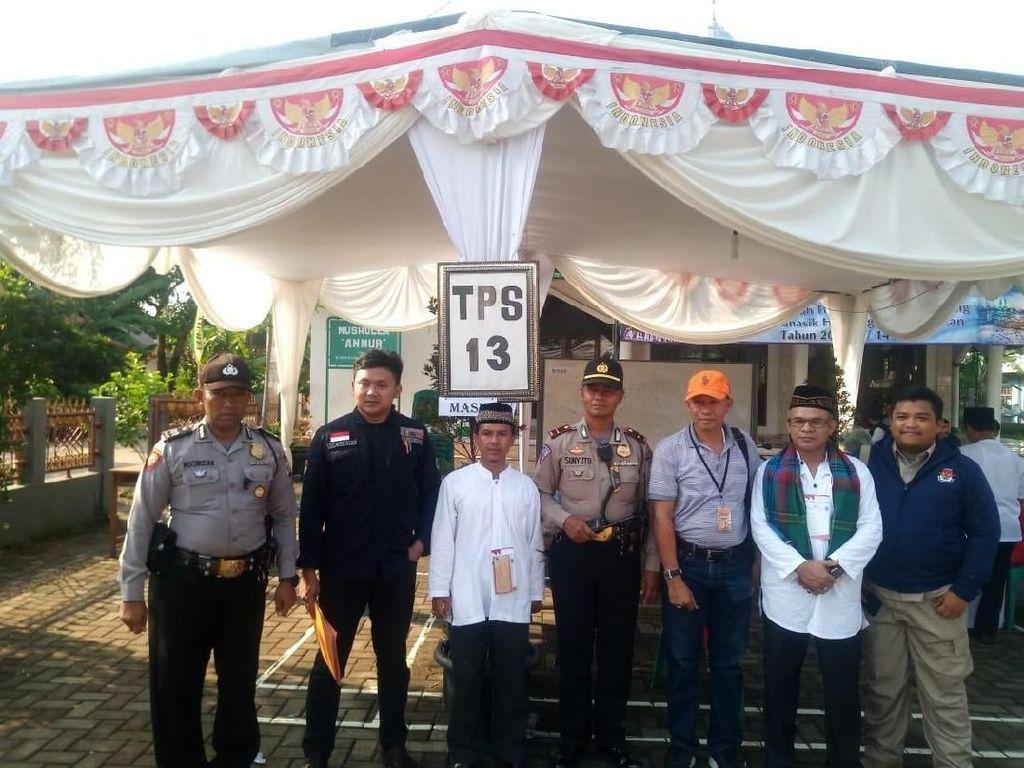 Pasangan Asyik Unggul di TPS Wali Kota Depok, Hasanah Keok