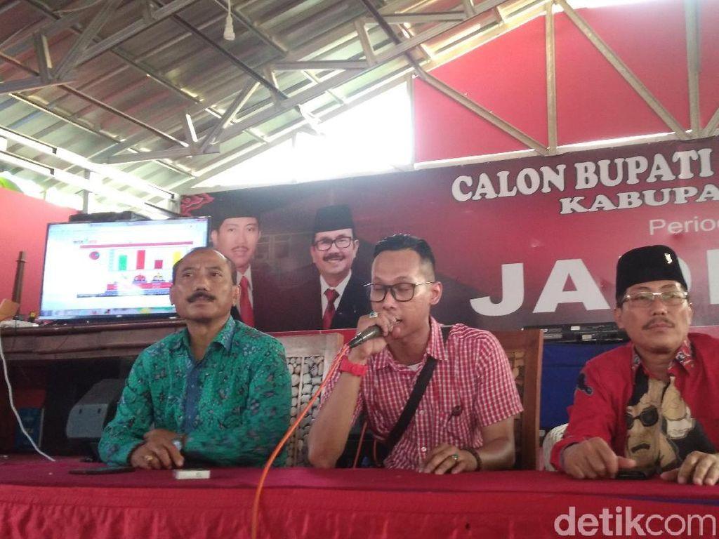 Calon Petahana Pilbup Cirebon Klaim Menang 45 Persen Suara