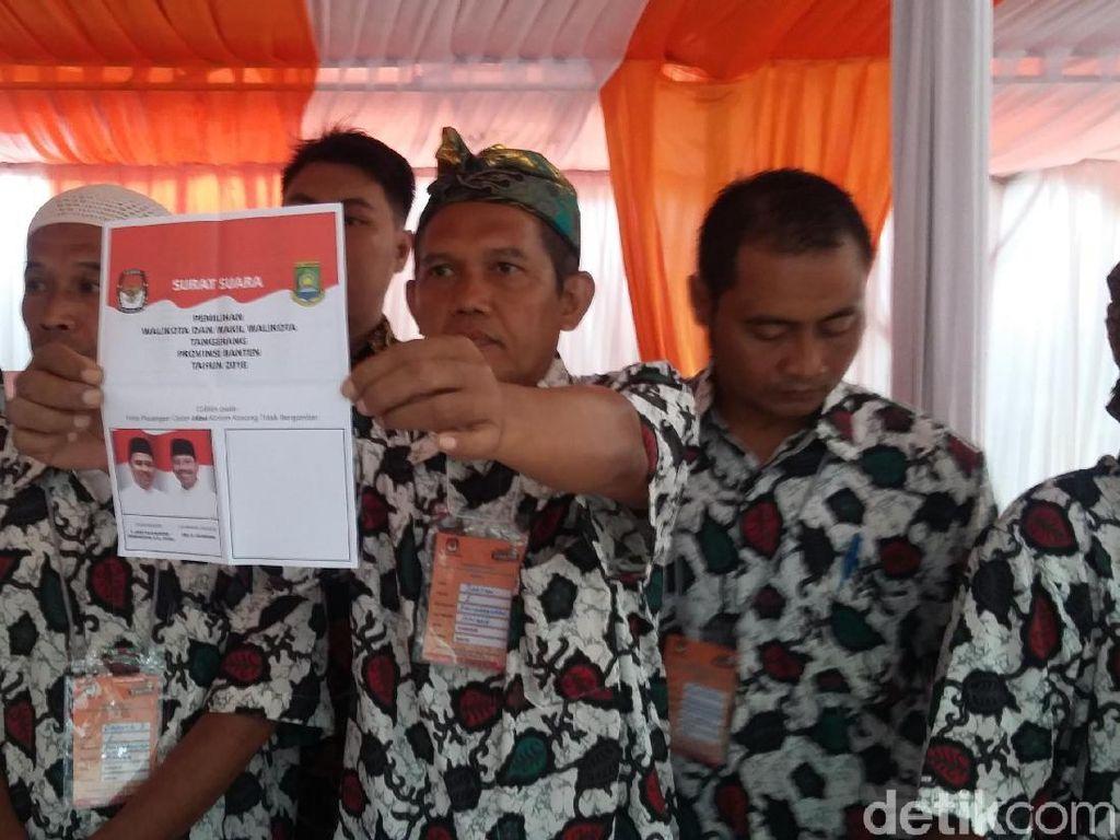 Petahana vs Kotak Kosong, Begini Suasana Pencoblosan di Tangerang