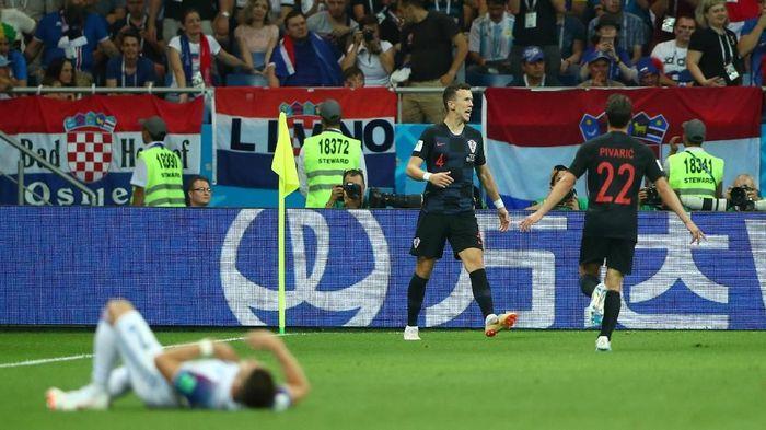 Timnas Kroasia di Piala Dunia 2018. (Foto: Hannah McKay/Reuters)