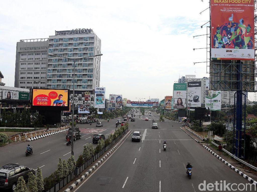 Parade Sambut HUT Kota Bekasi, CFD di Jalan Ahmad Yani Ditiadakan
