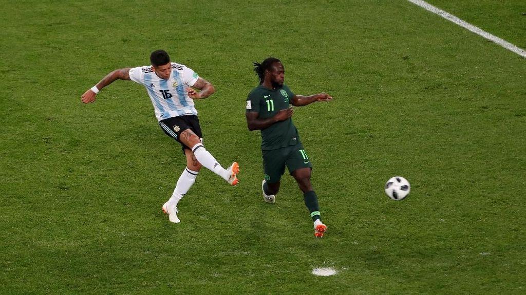 Video: Gol Dramatis Rojo Loloskan Argentina ke 16 Besar