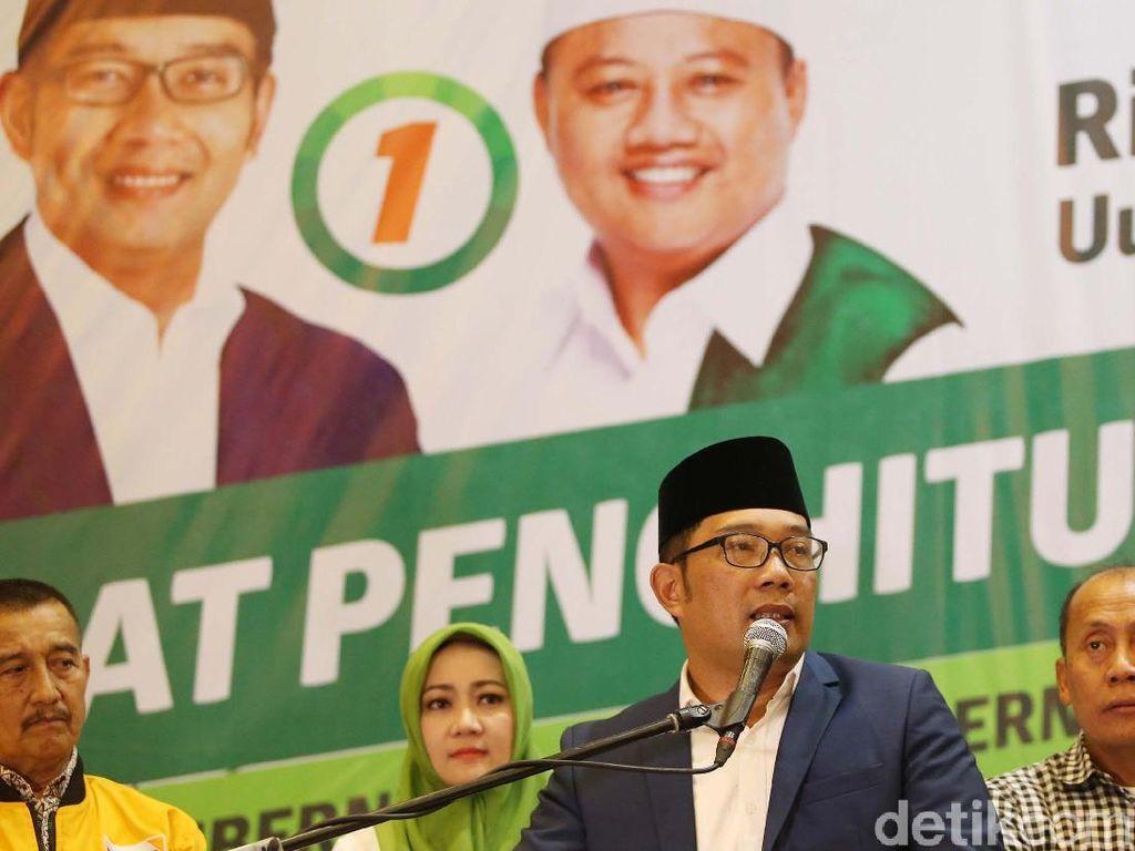 Real Count KPU Pagi Ini, Ridwan Kamil-Uu Kuasai Pantura