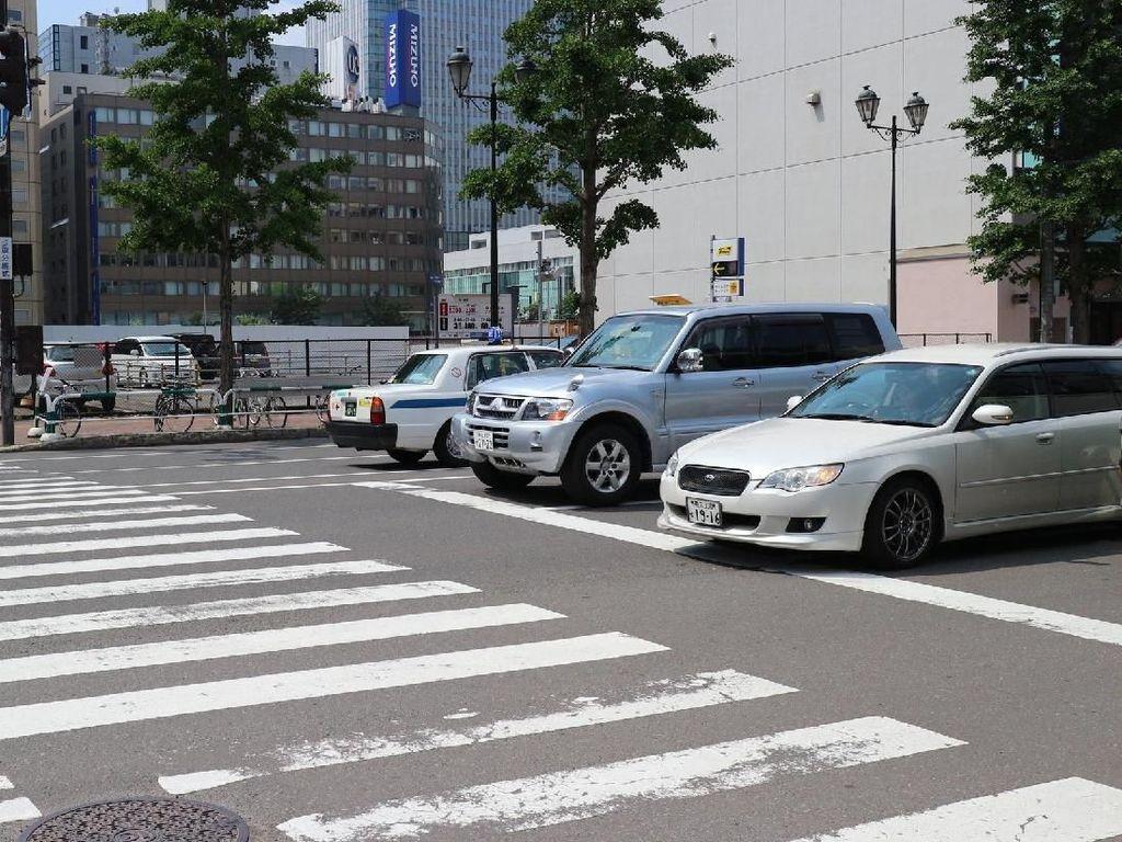 Begini Tertibnya Pengguna Jalan di Jepang
