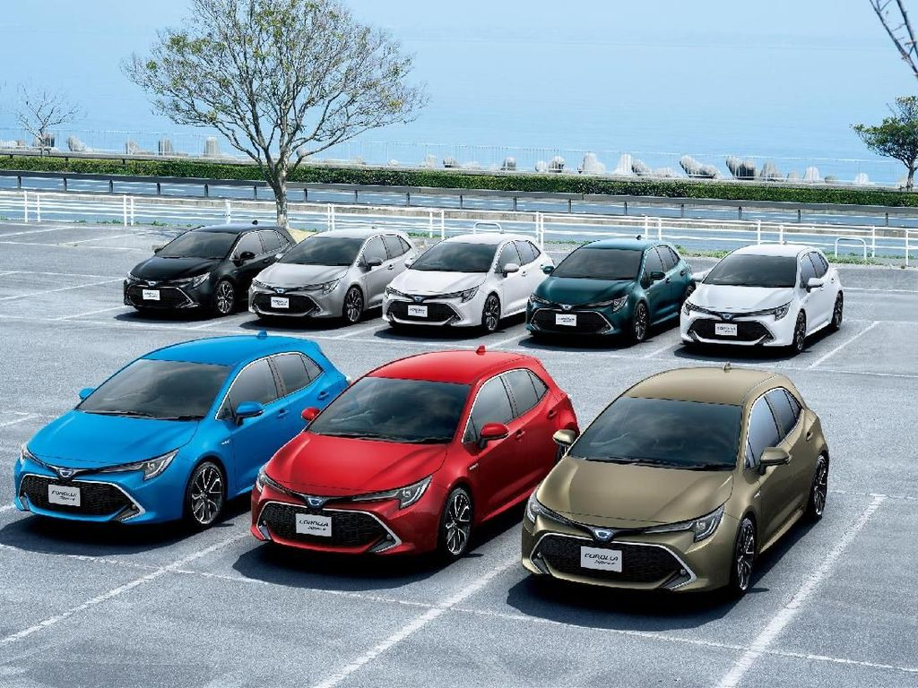Toyota Luncurkan Hatchback Corolla Sport Terbaru