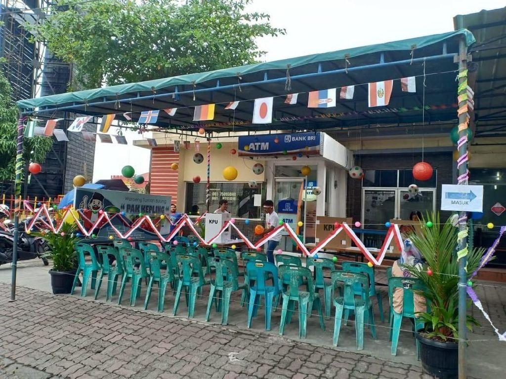 Pilkada Rasa Piala Dunia Juga Ada di Medan