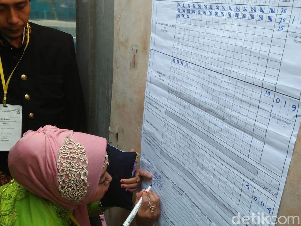 Ada 19 Suara Pendukung Sudirman-Ida di TPS Taj Yasin
