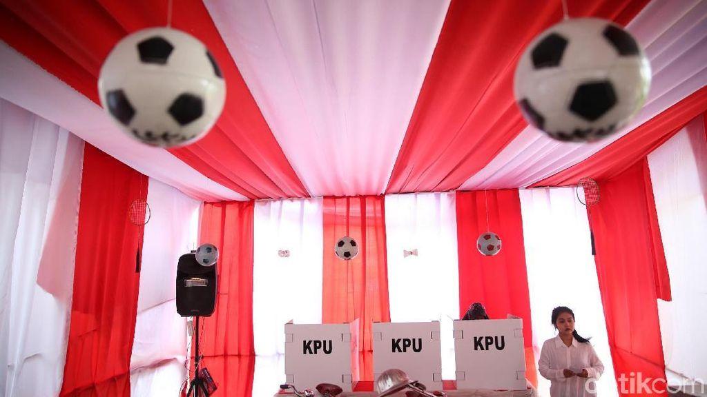TPS Asian Games Warnai Pilkada di Bekasi