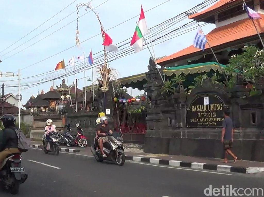Sambut Pilkada, TPS di Bali Bernuansa Piala Dunia