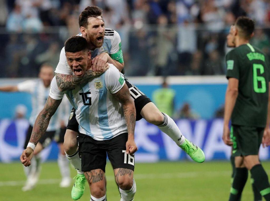 Bukti Messi Juga Nyaman di Timnas Argentina