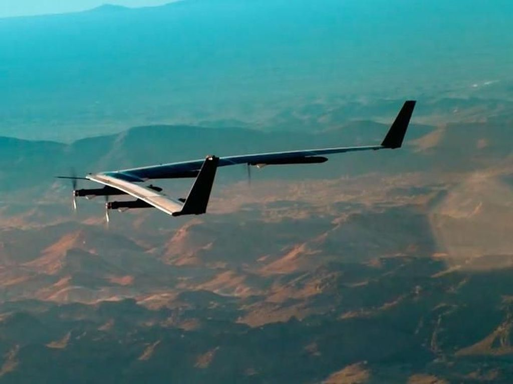 Facebook Batalkan Proyek Drone Internet, Kenapa?
