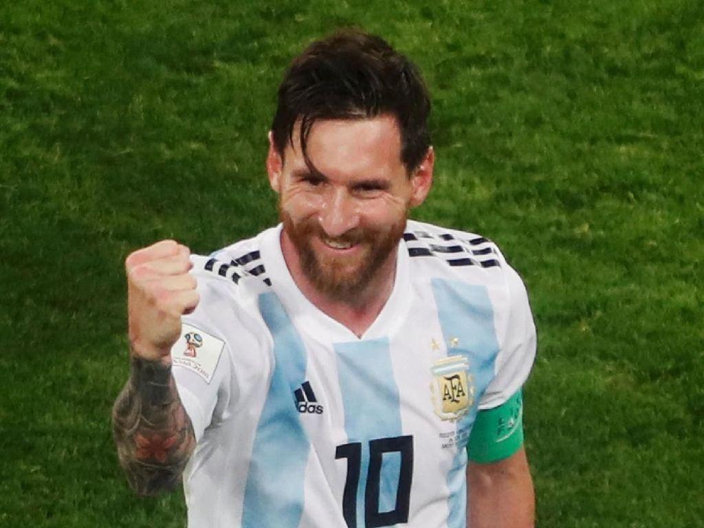 Messi Akhirnya Bikin Gol, Bisa Tersenyum Lagi