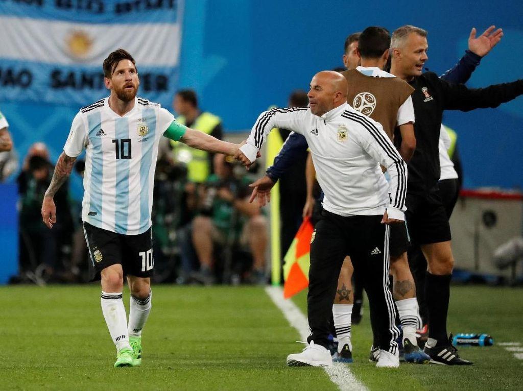 Ada Keberanian dan Keyakinan di Gol Kedua Argentina