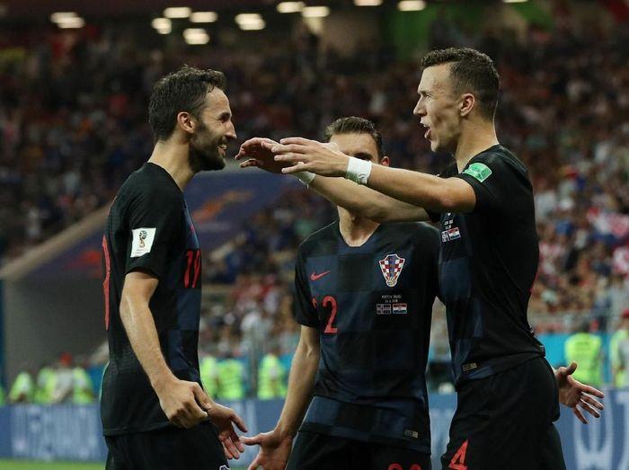 Kroasia menjadi pemuncak klasemen Grup D Piala Dunia 2018, Argentina berada di posisi dua (REUTERS/Albert Gea)