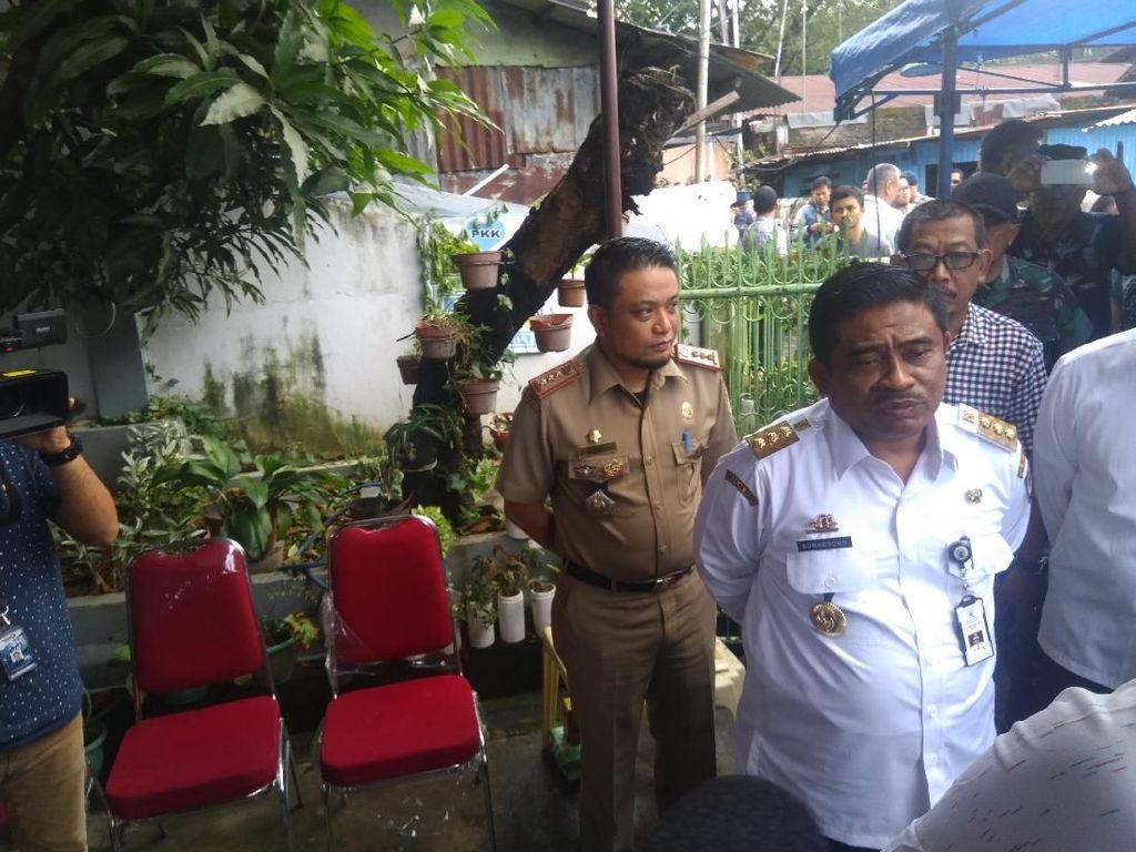 Pj Gubernur Sulsel Cek Kesiapan TPS di Makassar