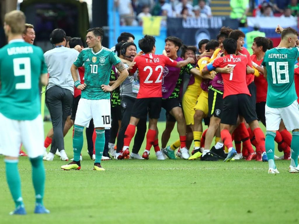 Kandas di Piala Dunia, Jerman Jadi Bulan-bulanan Netizen