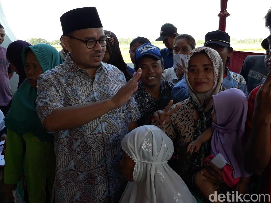 Datangi TPS di Desa Asalnya, Ini yang Dilakukan Sudirman Said