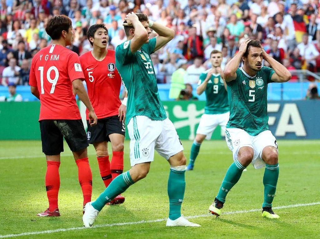 Hasil Pertandingan Piala Dunia 2018: Korea Selatan vs Jerman Skor 2-0