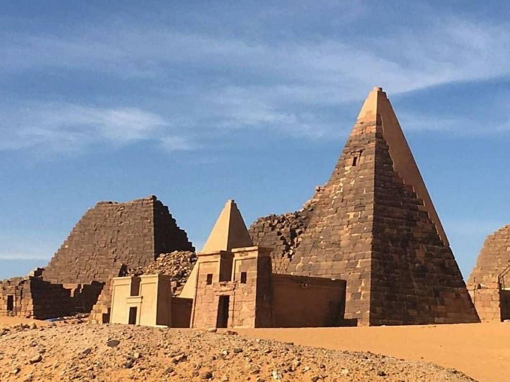 Bukan Mesir, Ini Piramida Punya Sudan