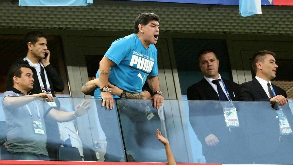 5 Pemicu Darah Rendah Seperti Dialami Maradona Usai Argentina Menang