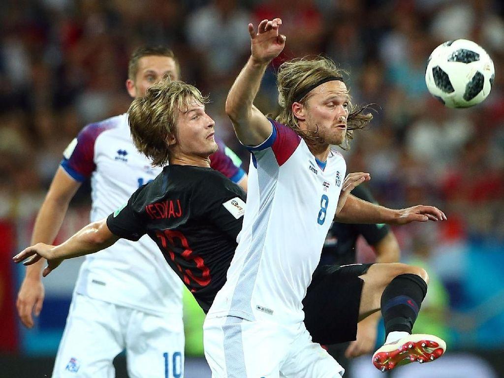 Babak I Selesai, Islandia Vs Kroasia Sementara 0-0