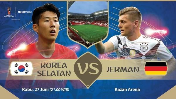 Live Report Piala Dunia 2018: Korea Selatan vs Jerman