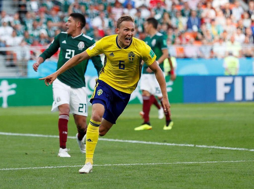 Swedia Lolos Sebagai Juara Grup F