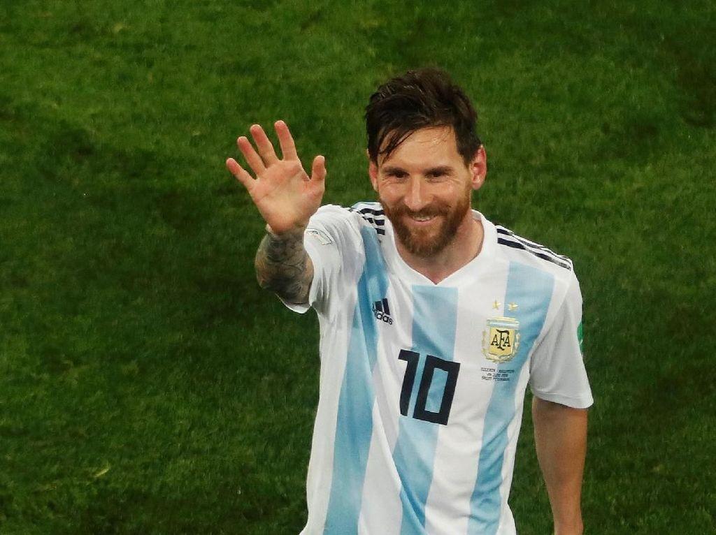 Argentina Amat Bergantung Messi, Crespo: Masuk Akal
