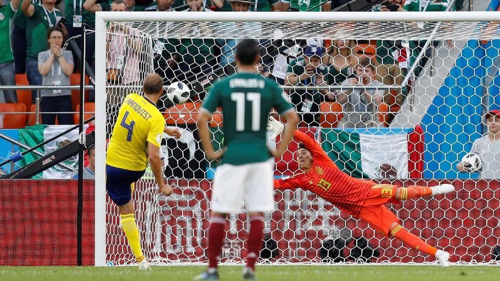 Video: Unggul 2-0, Swedia Buka Asa Lolos 16 Besar