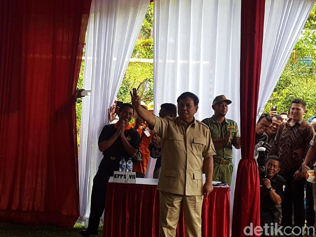Kata Prabowo Soal Pilkada Rasa Pilpres