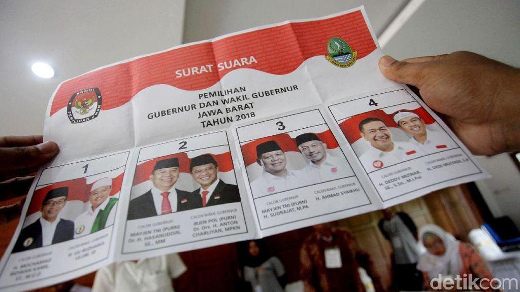 Deddy-Dedi Menang di TPS SBY
