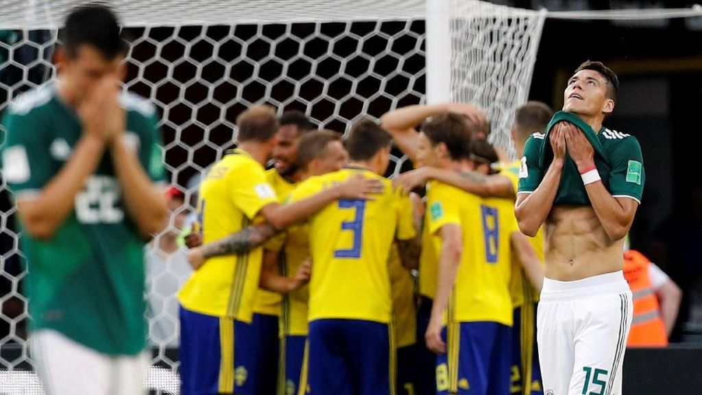 Video: Gol Bunuh Diri, Swedia Unggul 3-0