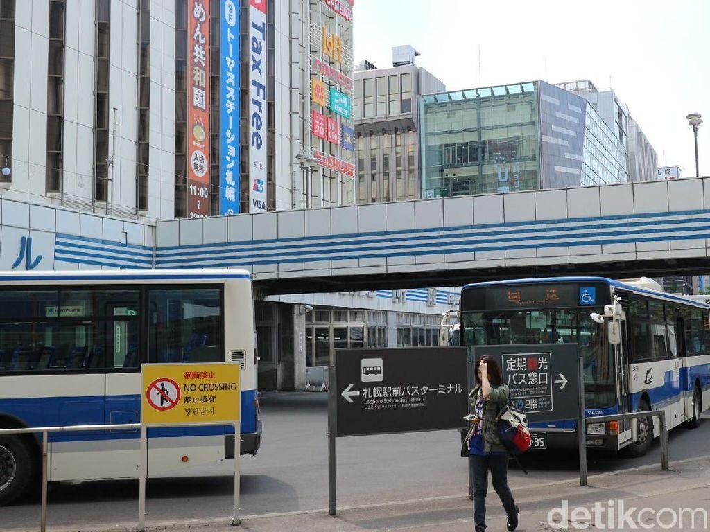 Potret Bus Umum di Jepang, Nyaman dan Nggak Ngaret