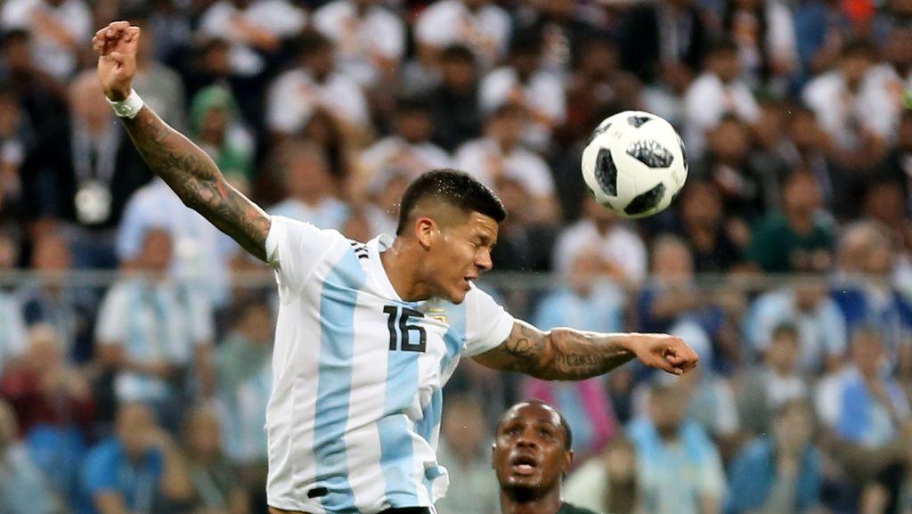 Marcos Rojo, Penentu Kemenangan Argentina Penyuka Mobil Mewah