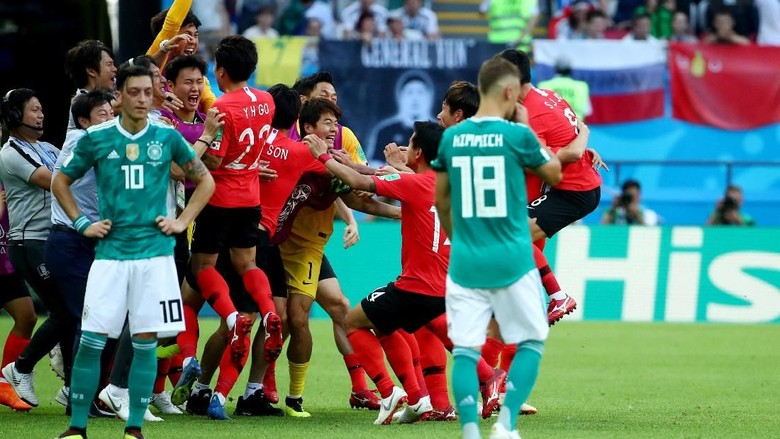 Dikalahkan Korea Selatan, Jerman Out dari Piala Dunia 2018