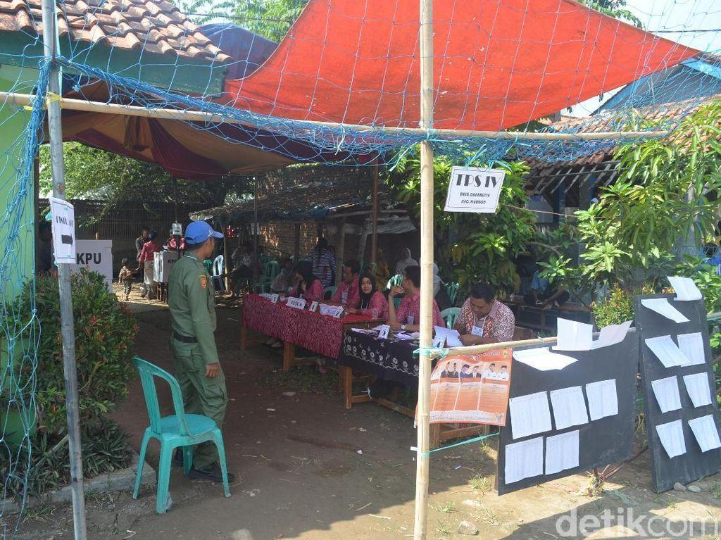 Ribuan Surat Suara Pilbup Cirebon di Desa Danumulya Hilang